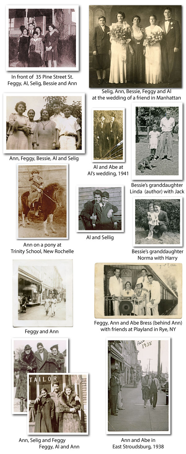 Bessie's Family collage